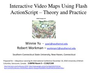 Interactive Video Maps Using Flash ActionScript – Theory and Practice