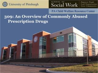 309: An Overview of Commonly Abused Prescription Drugs