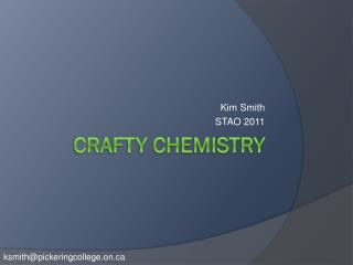 Crafty Chemistry