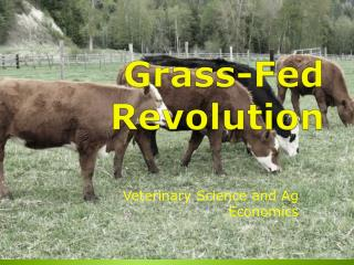 Grass-Fed Revolution