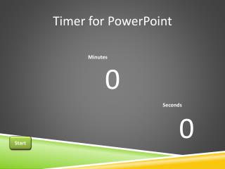 Timer for PowerPoint