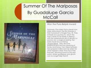 Won the  Pura Belpré  Award
