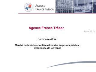 Agence  France  Trèsor