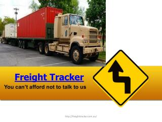 Transport Logistics Software | Freight Management System