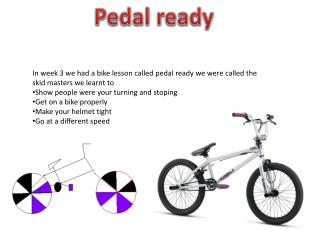 Pedal ready