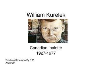 William Kurelek