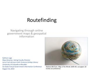 Routefinding