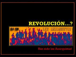 revolución…?