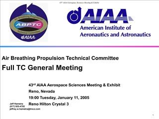 ABP TC General Meeting Agenda