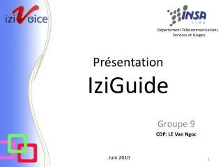 Présentation IziGuide