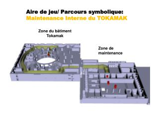 Zone du b�timent Tokamak
