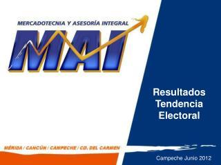 Resultados Tendencia Electoral