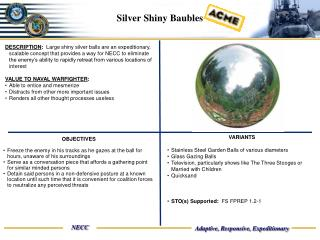 Silver Shiny Baubles