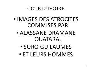COTE D'IVOIRE