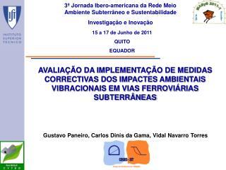 3ª Jornada Ibero-americana da Rede Meio Ambiente Subterrâneo e Sustentabilidade