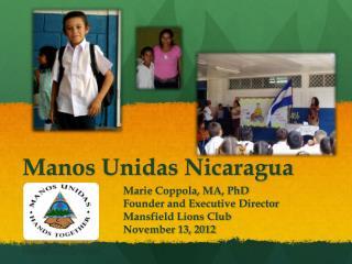 Manos  Unidas  Nicaragua