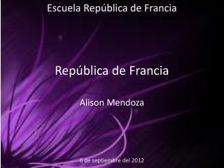 República de Francia