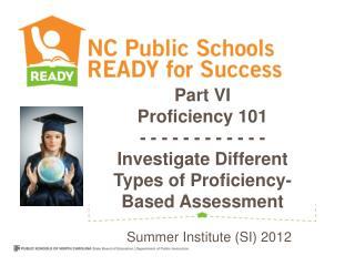 Summer Institute (SI) 2012