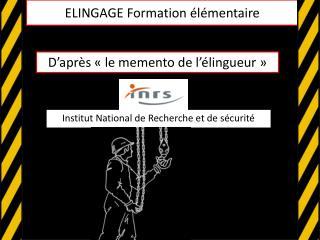 ELINGAGE Formation élémentaire