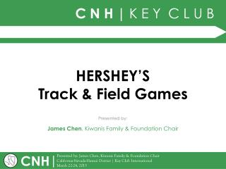 HERSHEY'S Track & Field Games