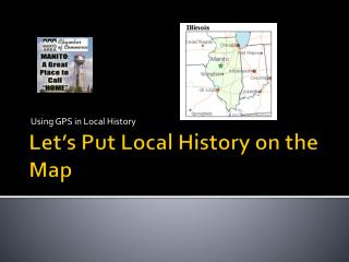 Let's Put Local History on the Map