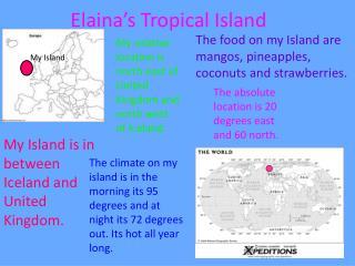 Elaina's Tropical Island