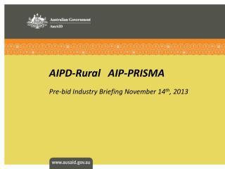 AIPD-Rural   AIP-PRISMA