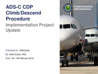 ADS-C CDP Climb/Descend Procedure