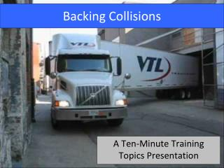 Backing Collisions