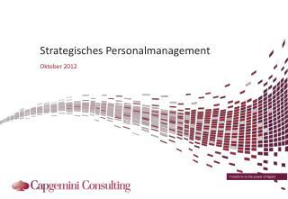 Strategisches Personalmanagement
