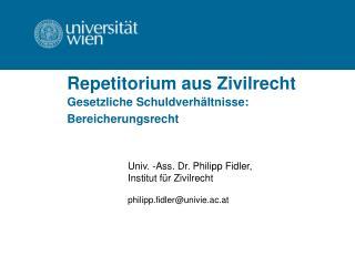 Repetitorium aus Zivilrecht