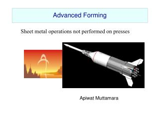 Advanced Forming