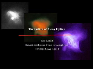 The Future of X-ray Optics
