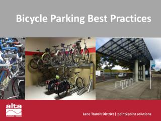 Bicycle Parking Best Practices