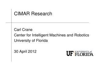 CIMAR Research