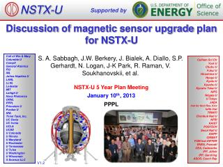 Discussion  of  magnetic  sensor upgrade  plan for NSTX-U
