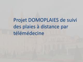 Projet DOMOPLAIES de suivi des plaies à distance par télémédecine
