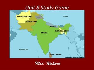 Unit 8 Study Game