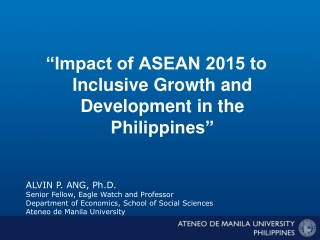 ANALYSIS OF BANANA PROCESSING BUSINESSES AND THEIR SUPPORT ENVIRONMENT IN THE PHILIPPINES