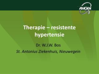 Therapie � resistente hypertensie