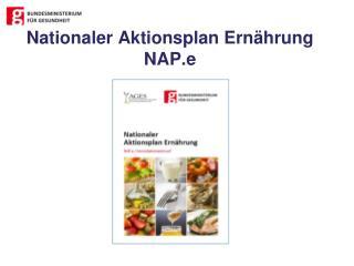 Nationaler Aktionsplan Ernährung NAP.e