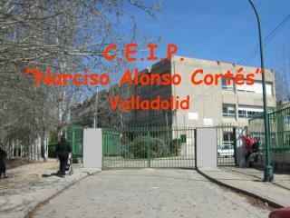 """C.E.I.P. """"Narciso Alonso Cortés"""" Valladolid"""