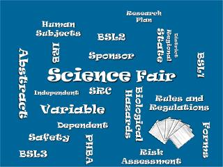 Science Fair Independent Dependent Variable