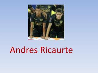 Andres Ricaurte