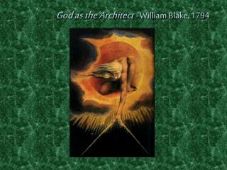 God as the Architect  -  William Blake, 1794