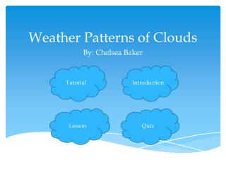 Weather Patterns of Clouds