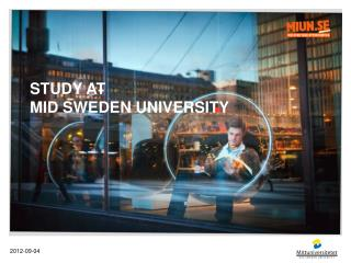 Study  at  Mid  Sweden University