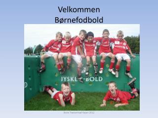 Velkommen Børnefodbold