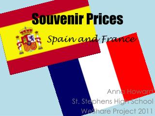 Souvenir Prices