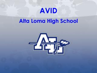 AVID Alta Loma High School